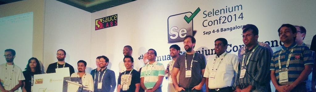 Selenium Conference 2014